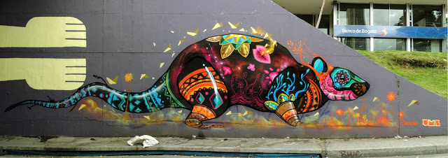 Murales con especies nativas