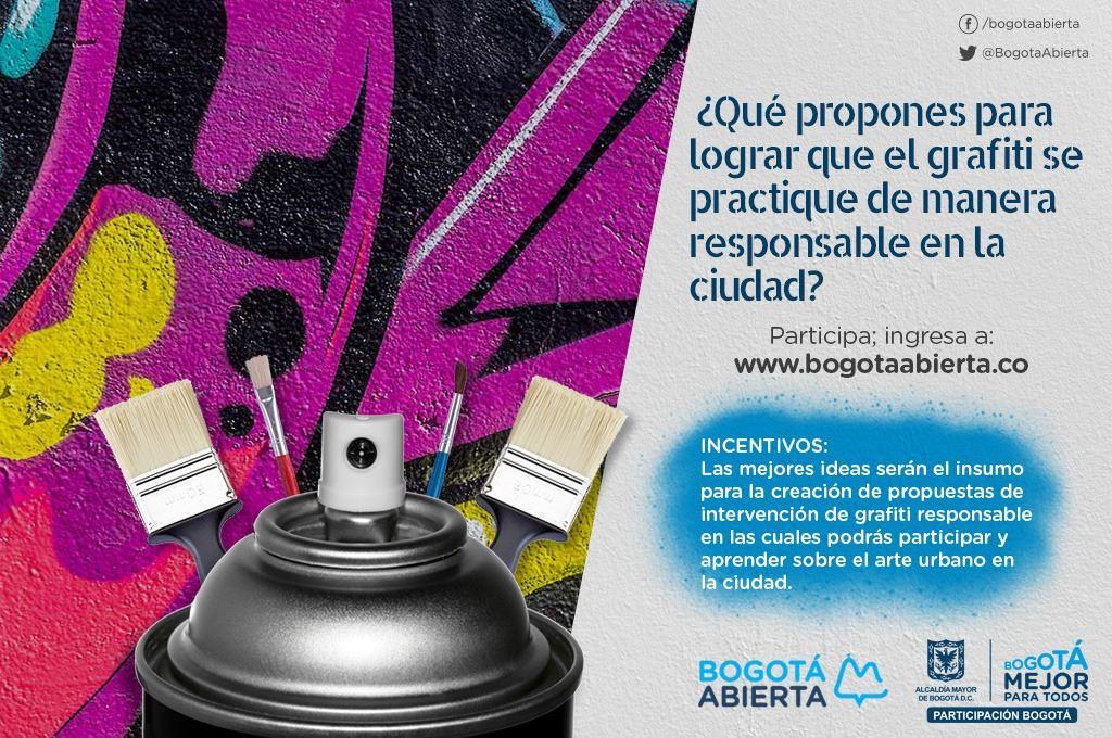 ¿Qué propones para que el grafiti se practique de manera responsable en la ciudad?