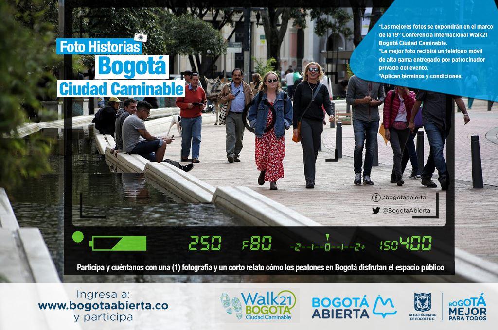 Foto Historias -  Bogotá Ciudad Caminable