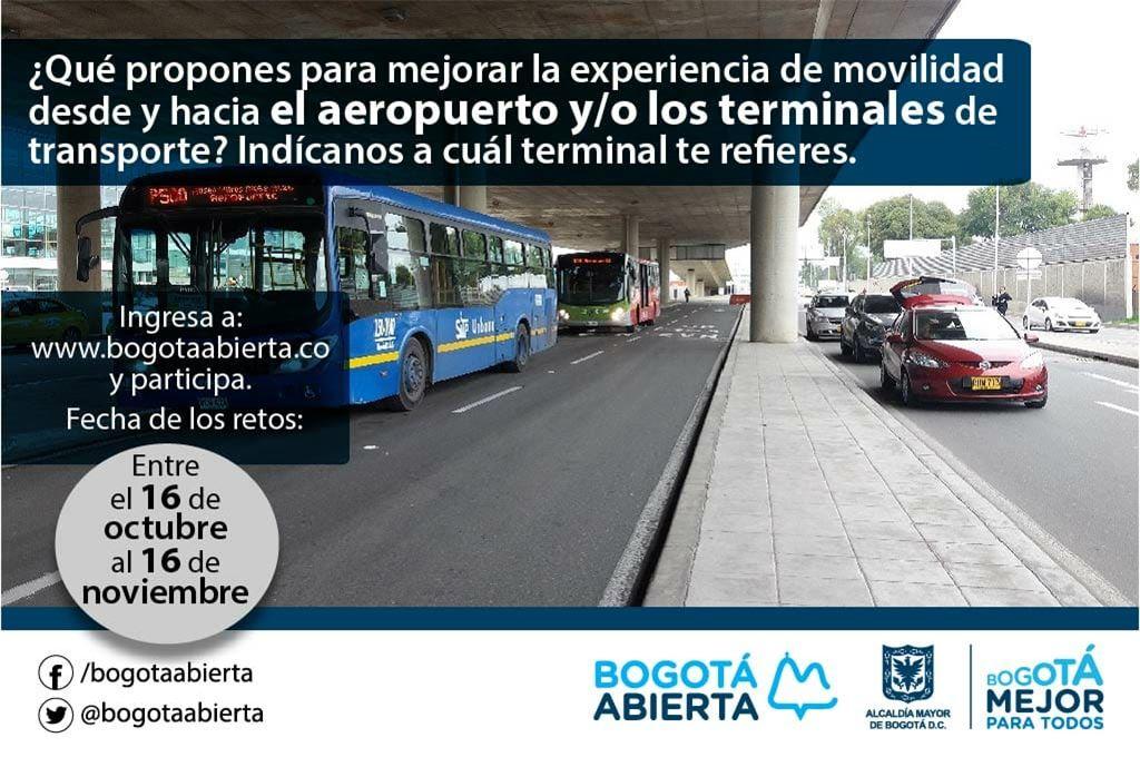 ¿Qué propones para mejorar la experiencia de movilidad desde/hacia el aeropuerto y/o los terminales de transporte?