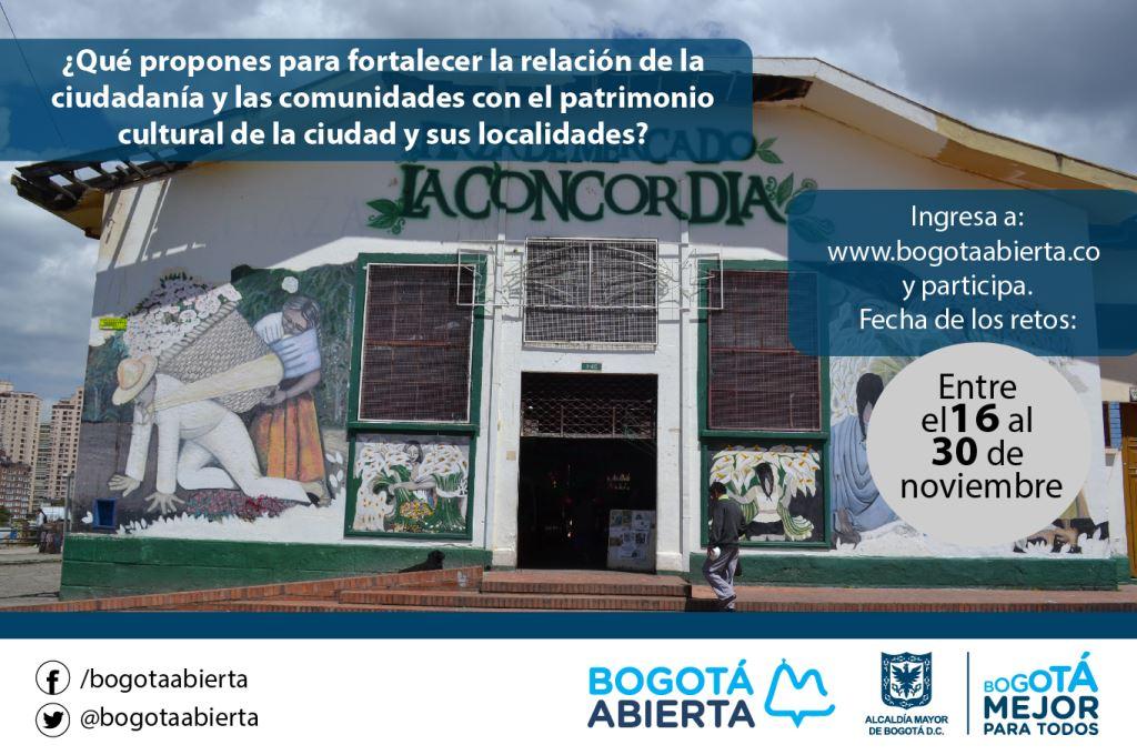 ¿Qué propones para fortalecer la relación de la ciudadanía y comunidades con el patrimonio cultural de la ciudad?