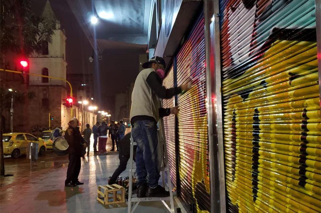 ¿Cuál es el grafitti o mural de la nueva Galería de Arte Urbano de la 7a peatonal que más te gusta?