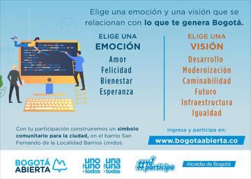 1. Elige una EMOCION que te inspire Bogotá