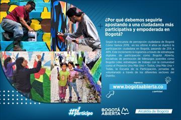 ¿Por qué debemos seguirle apostando a una ciudadanía más participativa y empoderada en Bogotá?