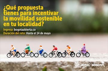 ¿Qué propuesta tienes para incentivar la movilidad sostenible en tu localidad?