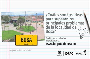 ¿Cuáles son tus ideas para superar los principales problemas de la localidad de Bosa?