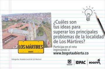 ¿Cuáles son tus ideas para solucionar los problemas de la localidad de Los Mártires?