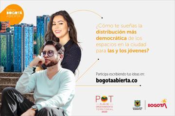 ¿Cómo te sueñas la distribución más democrática de los espacios en la ciudad para las y los jóvenes?