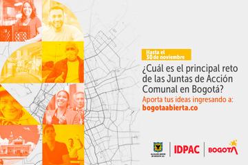 ¿Cuál es el principal reto de las Juntas de Acción Comunal en Bogotá?