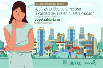 ¿Cuál es tu idea para mejorar la calidad del aire en nuestra ciudad?