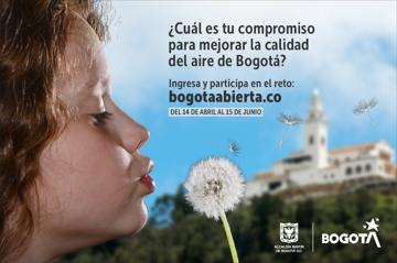 ¿Cuál es tu compromiso para mejorar la calidad del aire de Bogotá?