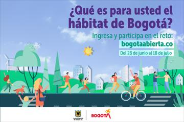 ¿Qué es para usted el hábitat de Bogotá?